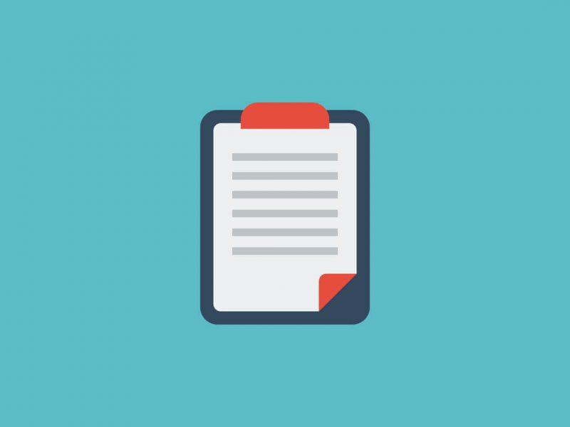 Client briefing sheet